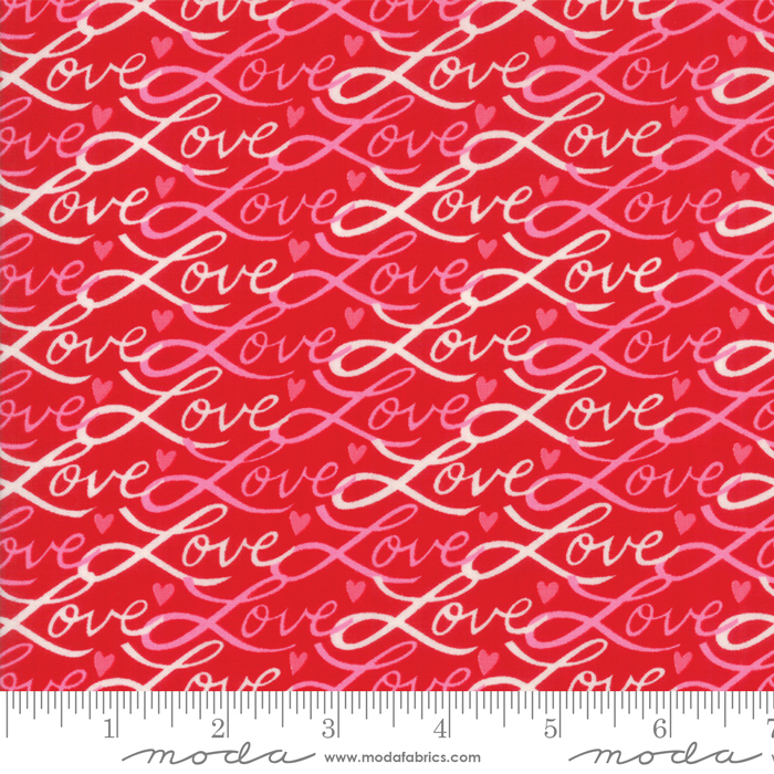 Love Grows - Love Script Red