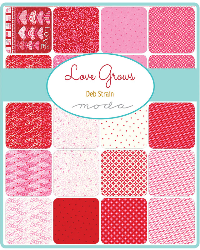 Love Grows Charm Pack
