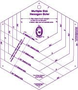 Hexagon Ruler