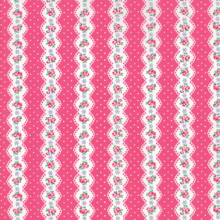 Guest Room - Stripe Dark Pink