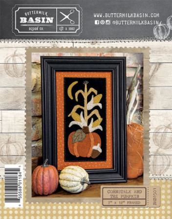 Frame It Up/Cornstalk Pumpkin - Pattern