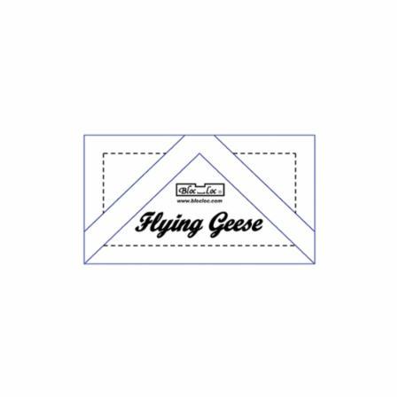 Flying Geese Ruler - 1 1/2 x 3