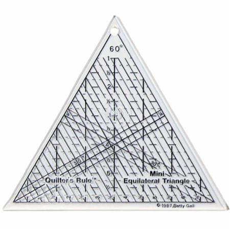 Equilateral Triangle Ruler 6
