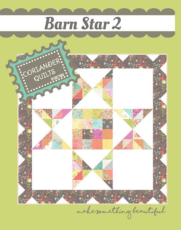 Barn Star 2 - Hanging Wall Pattern