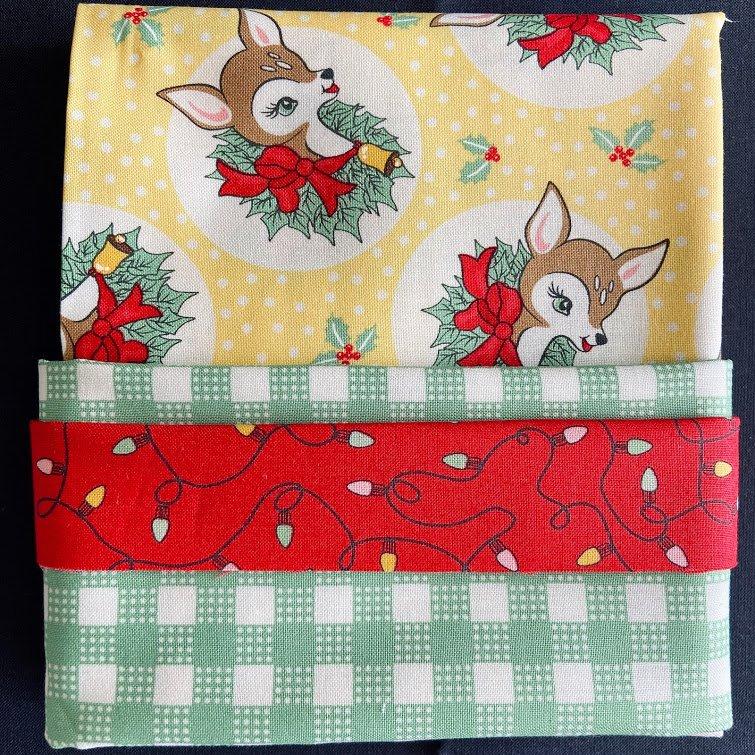 Deer Christmas Pillowcase Kit