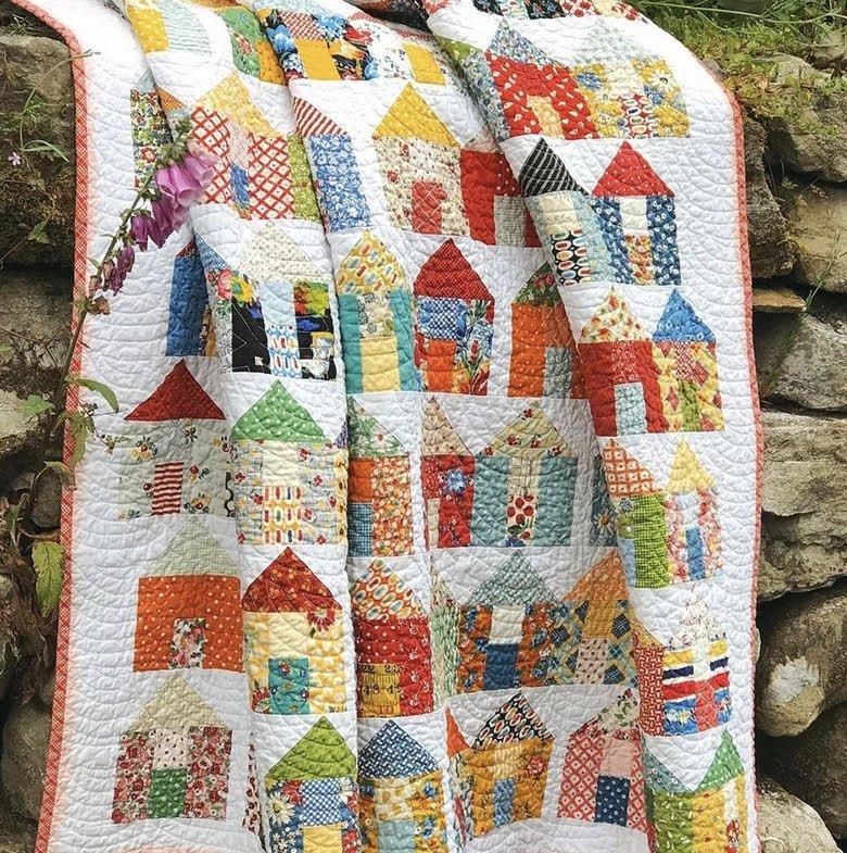 Village by Miss Rosie's Quilt Co. - Free PDF