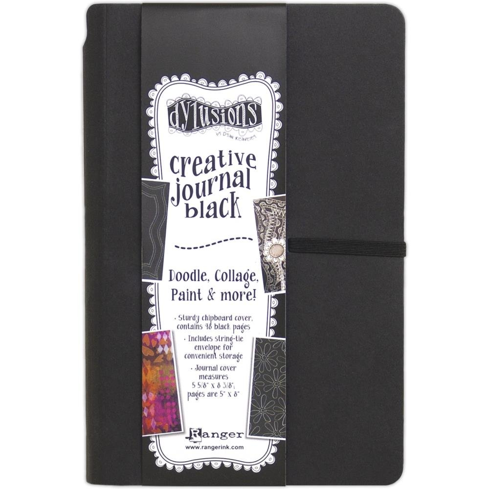 Dyan Reaveley's Dylusions Black Journal-Small