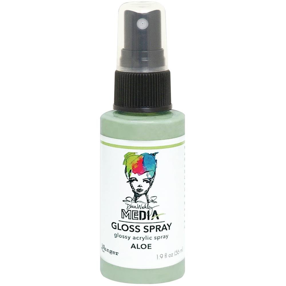 Dina Wakley Media Gloss Sprays 2oz-Aloe