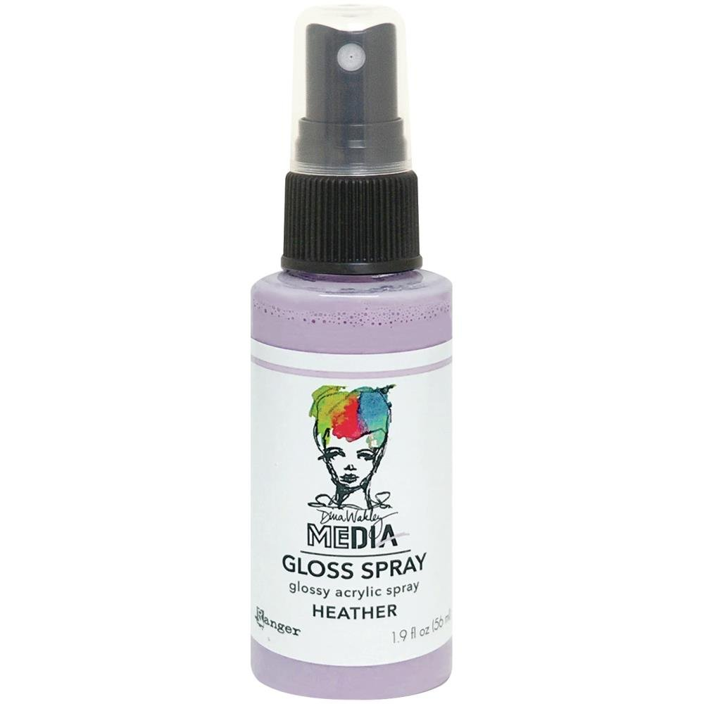 Dina Wakley Media Gloss Sprays 2oz-Heather
