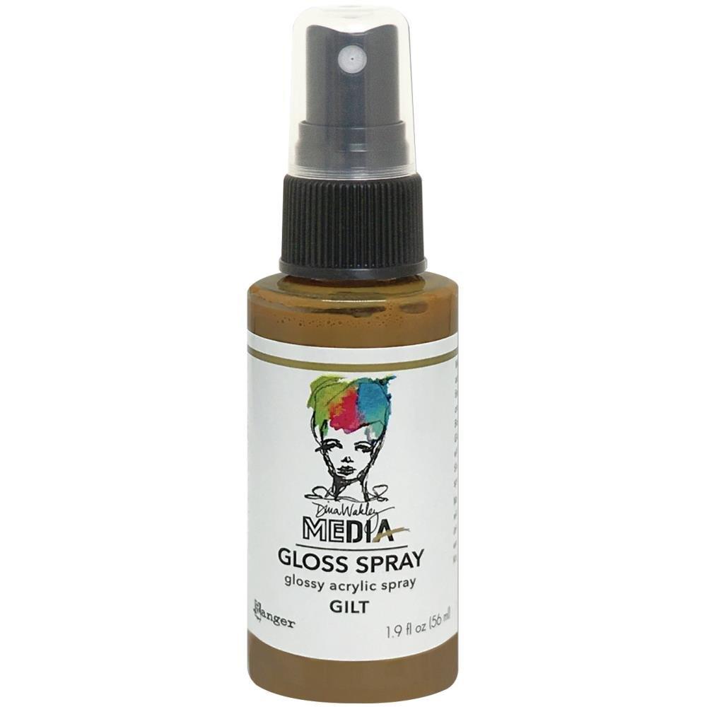 Dina Wakley Media Gloss Sprays 2oz-Gilt