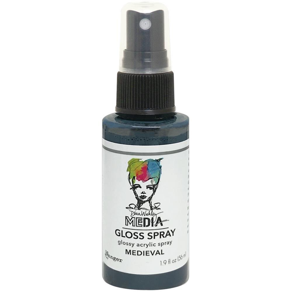 Dina Wakley Media Gloss Sprays 2oz-Medieval