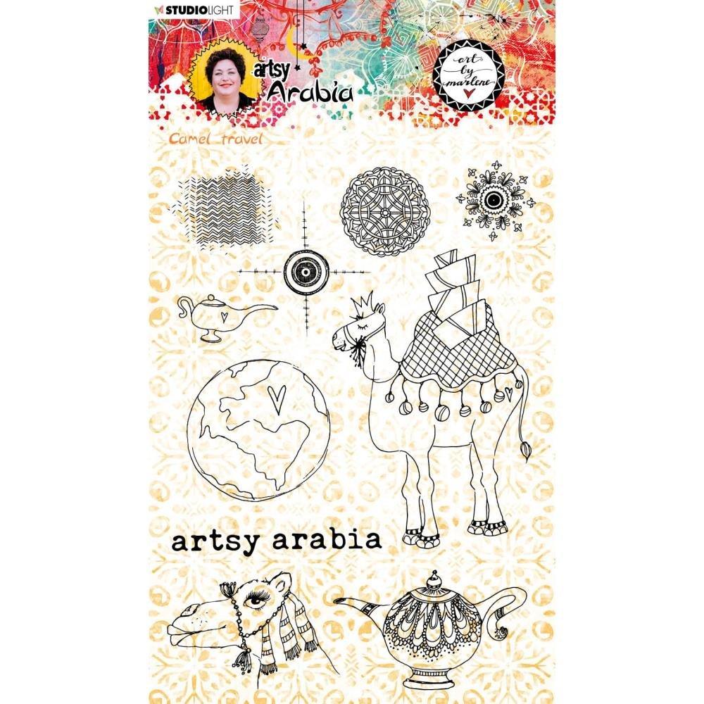 Studio Light Art By Marlene Artsy Arabia Clear Stamp Set nr. 60