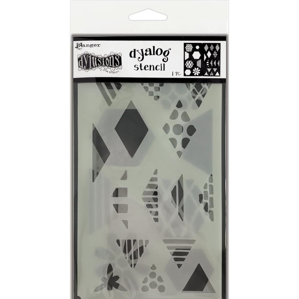 Dyan Reaveley's Dylusions Dyalog Stencil-Quilt It