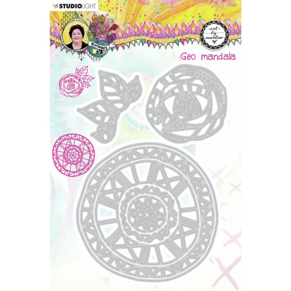 Studio Light Marlene's World Cutting & Embossing Die-Nr.15, Geo Mandala