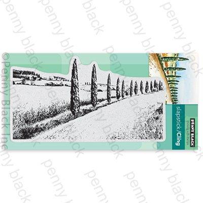 Penny Black Cling Stamps-Wanderlust