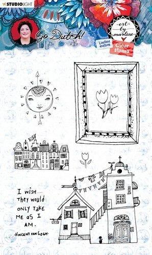 Art by Marlene - Go Dutch Collection - Stamp No. 56