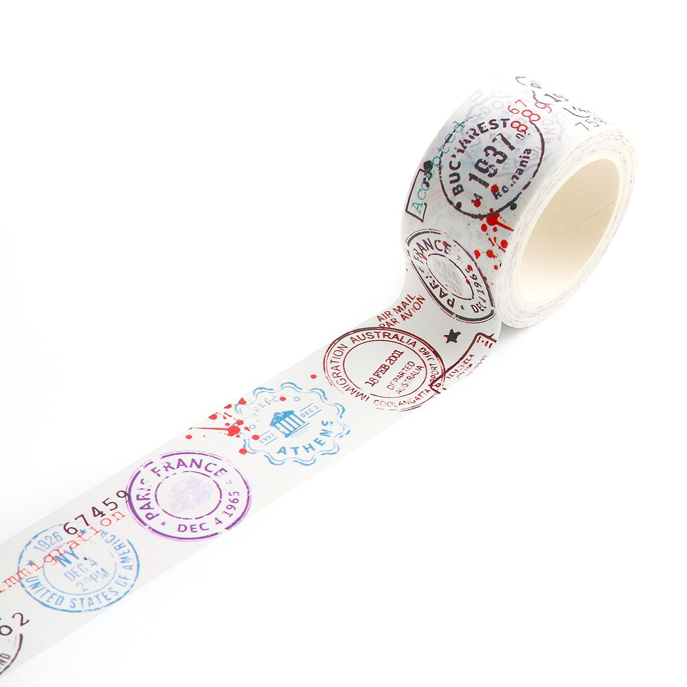AALL & Create - Washi Tape #14 Passport Stamps