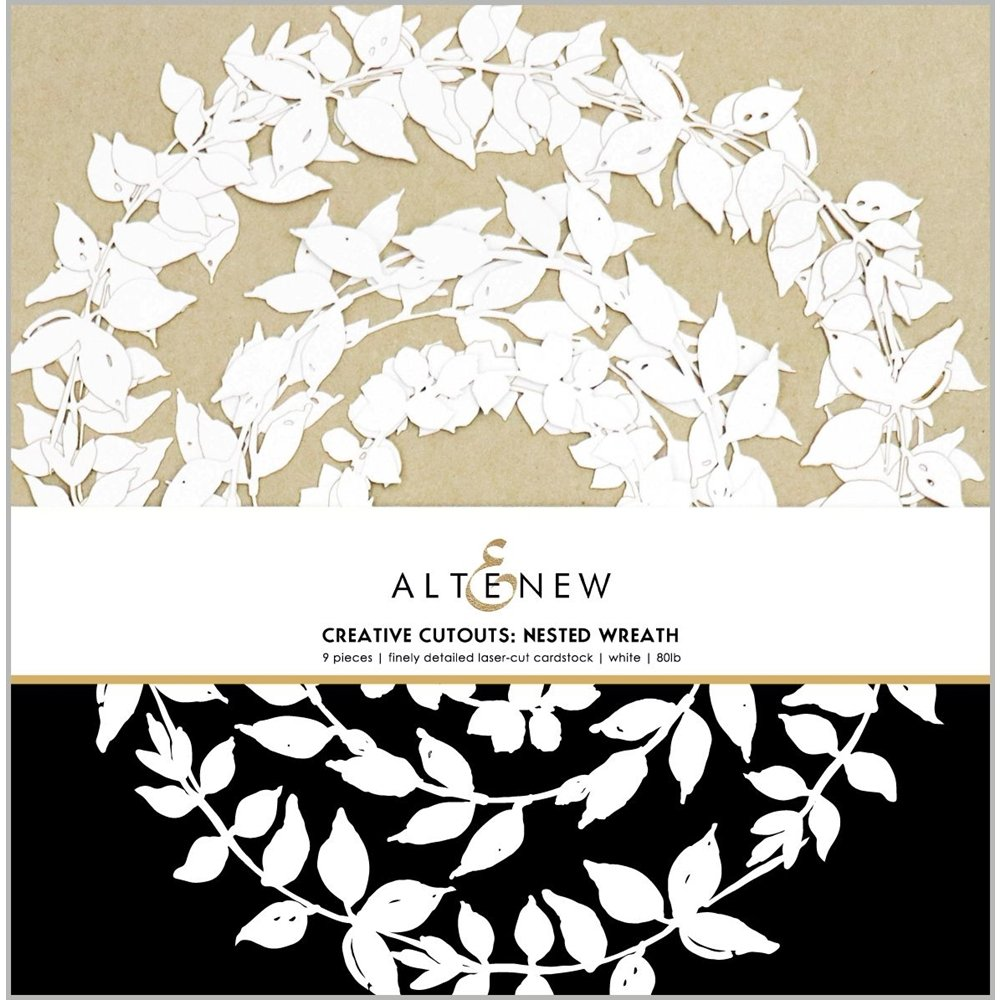 Altenew - Creative Cut Outs - Nested Wreath