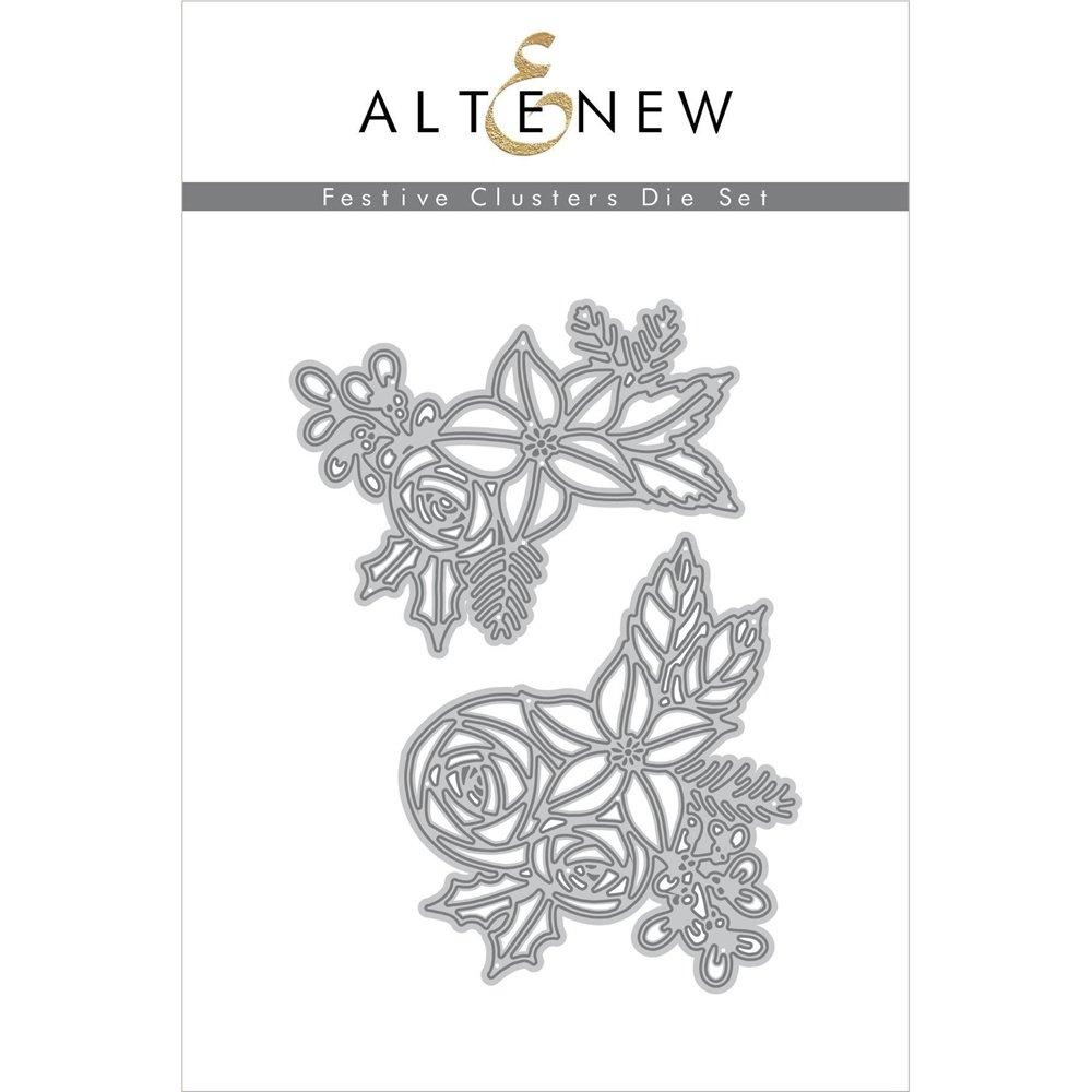 Altenew - Dies - Festive Clusters Die Set