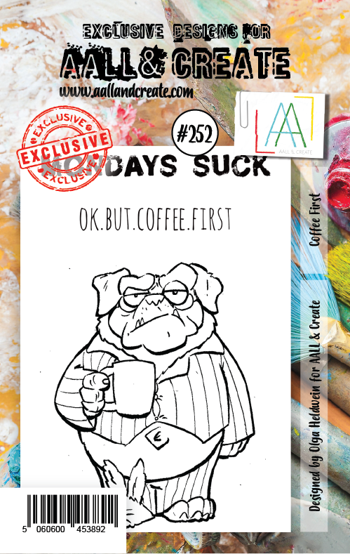 AALL & Create - Stamps - #252 Coffee First