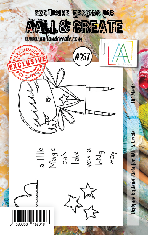 AALL & Create - Stamps - #257 Lil' Magic