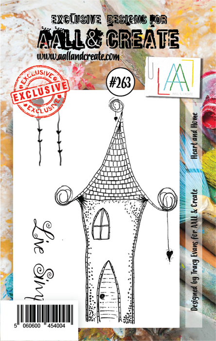 AALL & Create - Stamps - #263 Heart and Home