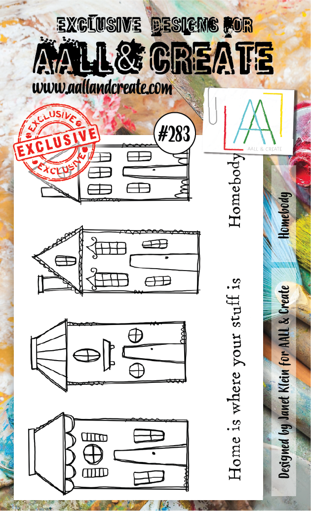 AALL & Create - Stamps - #283 Homebody