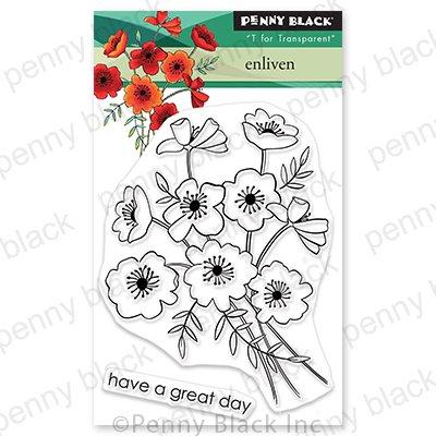 Penny Black Clear Stamps-Enliven