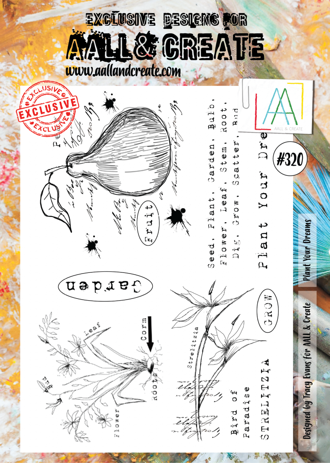 AALL & Create - Stamps - #320 Plant Your Dreams