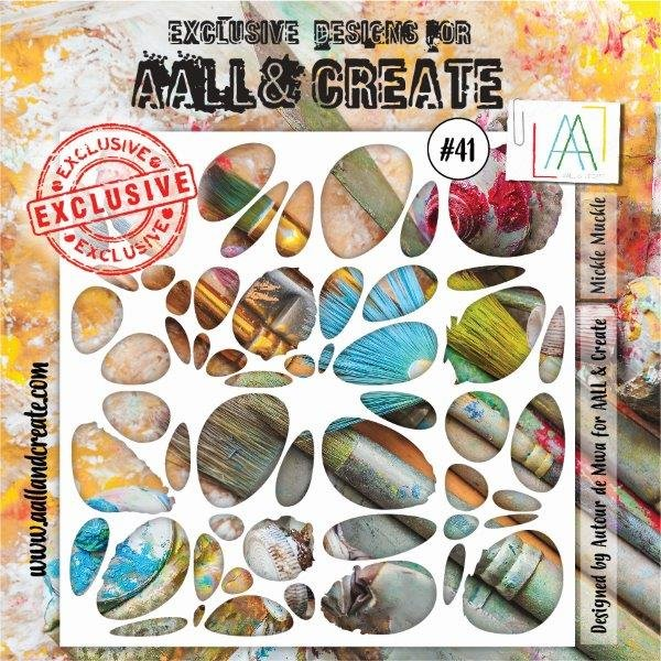 AALL & Create - Stencil - #41 Mickle Muckle