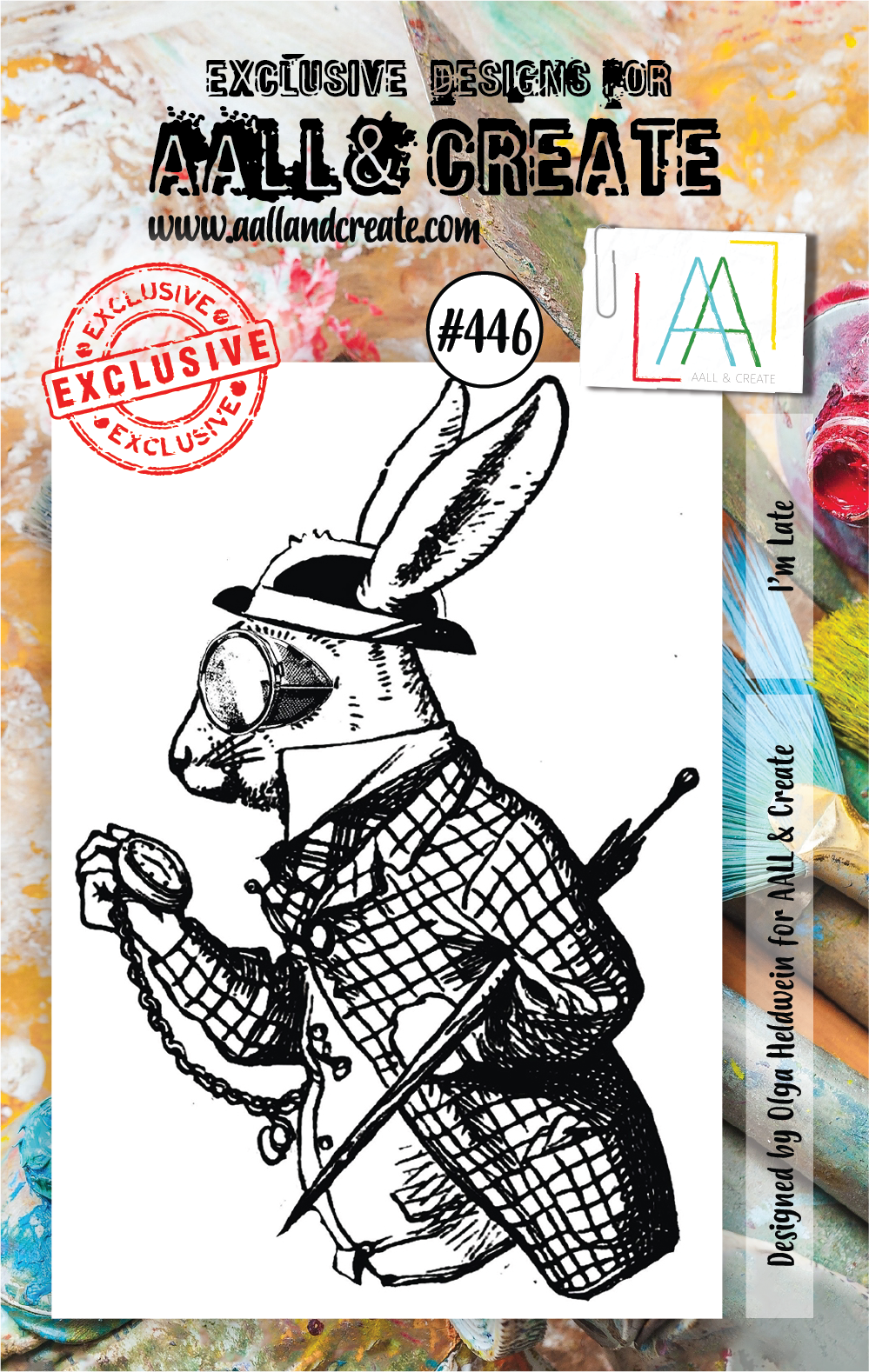 AALL & Create - Stamps - #446 I'm Late