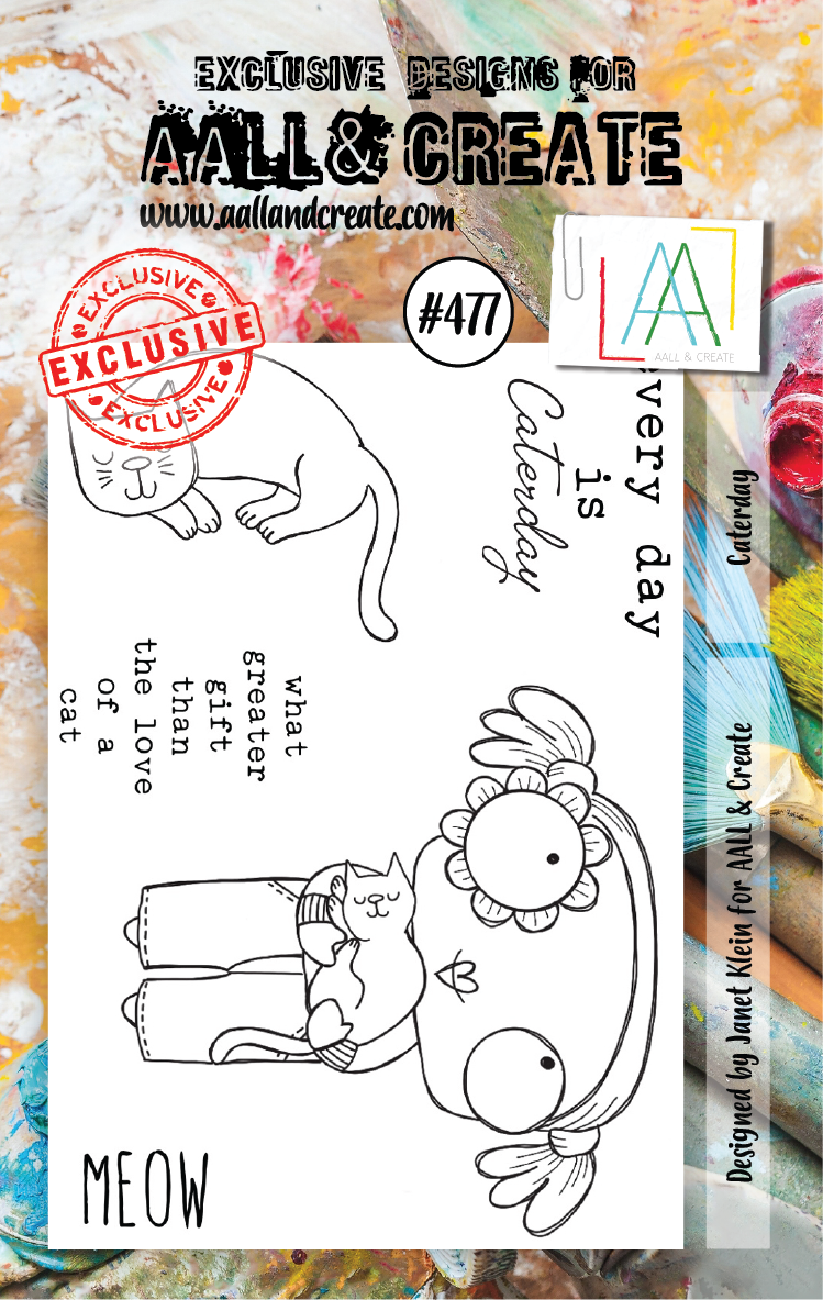 AALL & Create - Stamps - #477 Caterday
