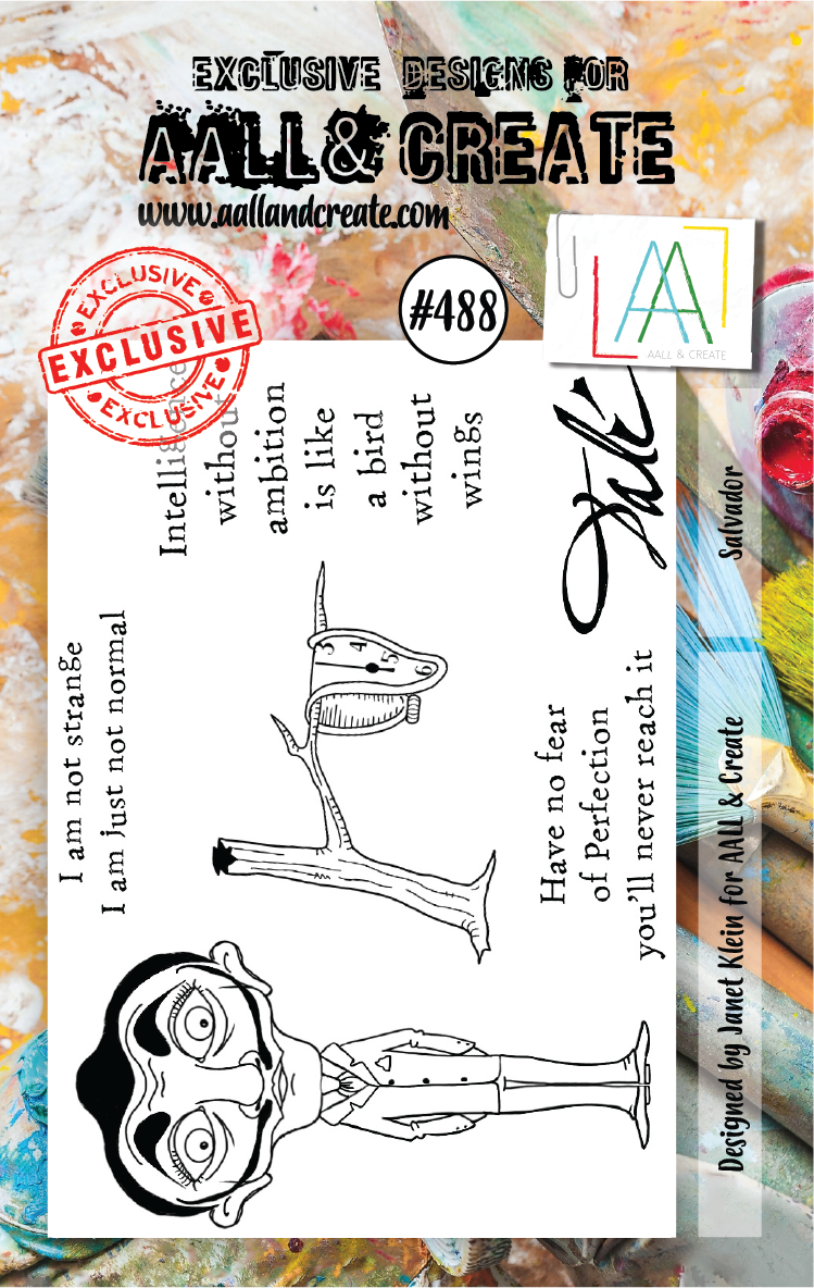 AALL & Create - Stamps - #488 Salvador