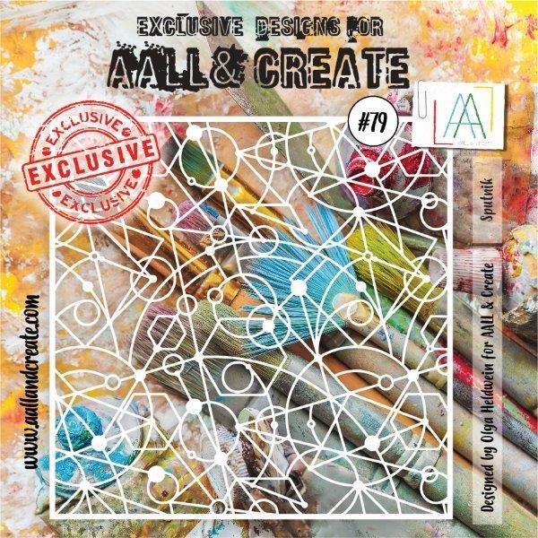 AALL & Create - Stencil - #79 Sputnik