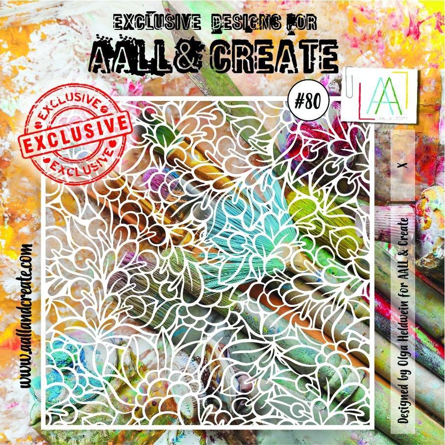 AALL & Create - Stencil - #80 X