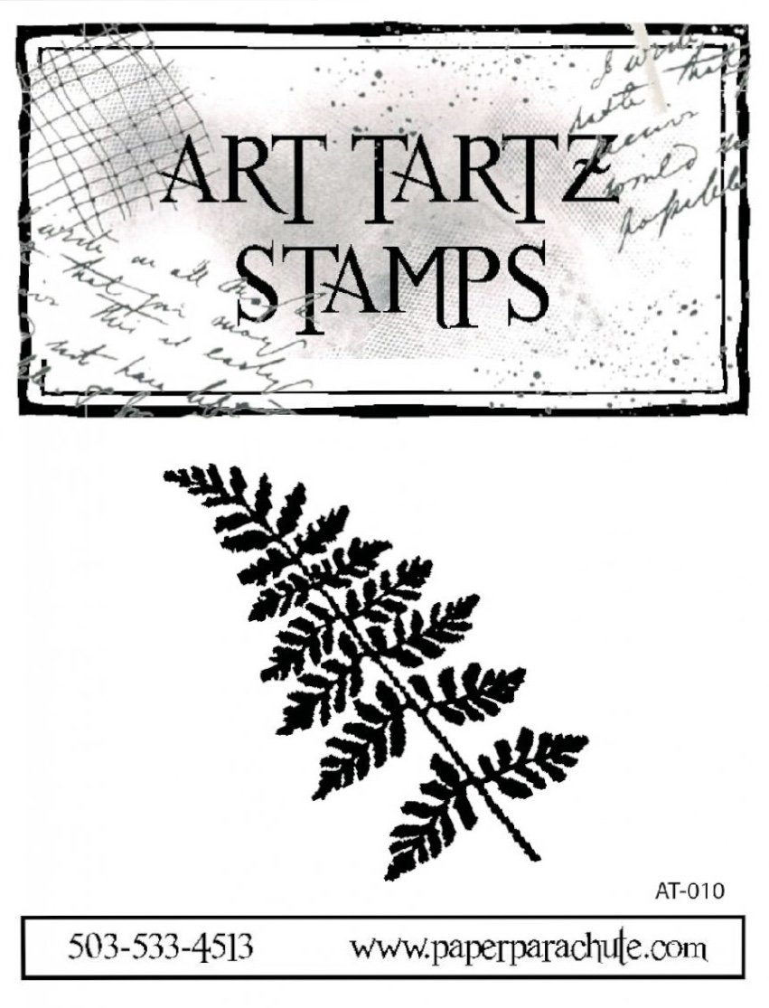 Art Tartz Rubber Stamp - Fern