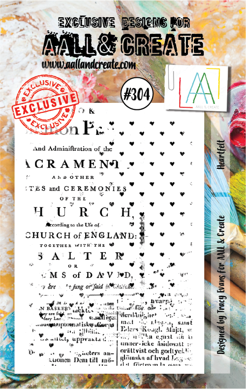 AALL & Create - Stamps - #304 Heartfelt