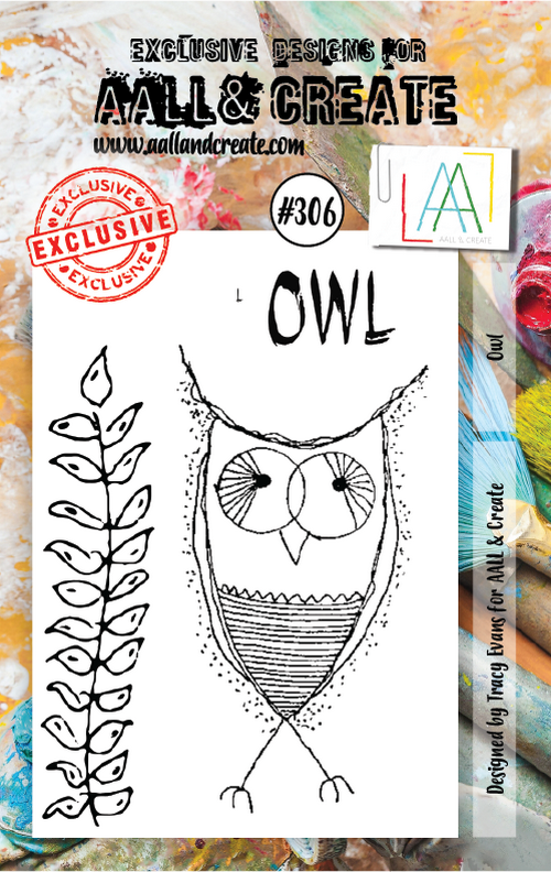 AALL & Create - Stamps - #306 Owl