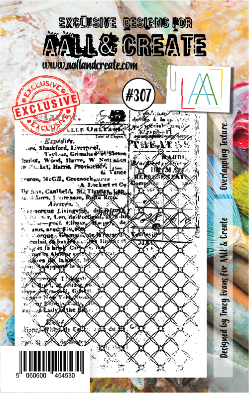 AALL & Create - Stamps - #307 Overlapping Texture