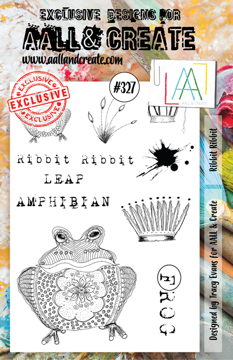 AALL & Create - Stamps - #327 Ribbit Ribbit