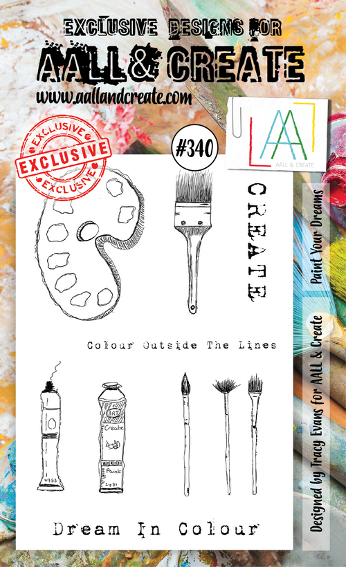 AALL & Create - Stamps - #340 Paint Your Dreams