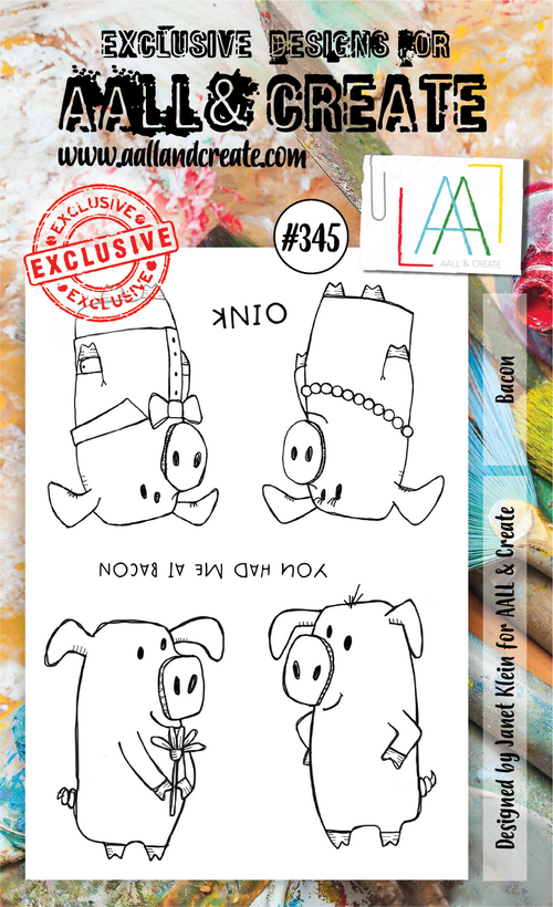AALL & Create - Stamps - #345 Bacon