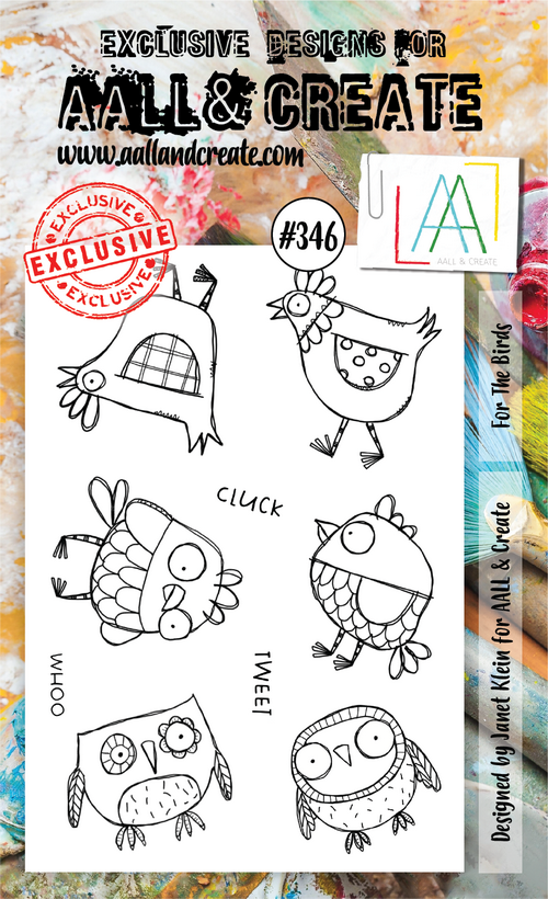 AALL & Create - Stamps - #346 For the Birds
