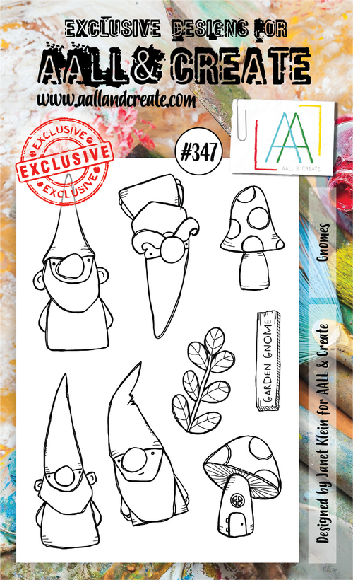 AALL & Create - Stamps - #347 Gnomes