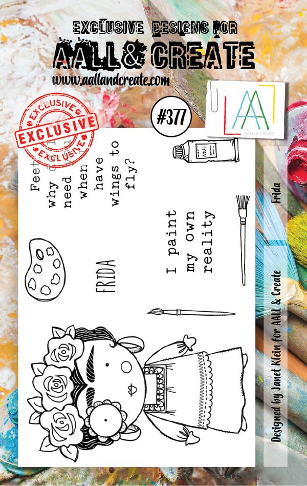 AALL & Create - Stamps - #377 Frida
