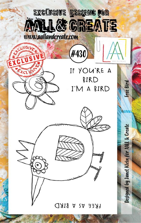 AALL & Create - Stamps - #430 Free Bird