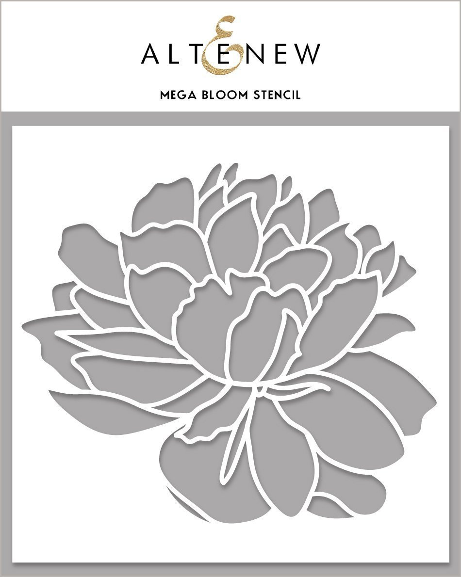 Altenew - Stencils - Mega Bloom