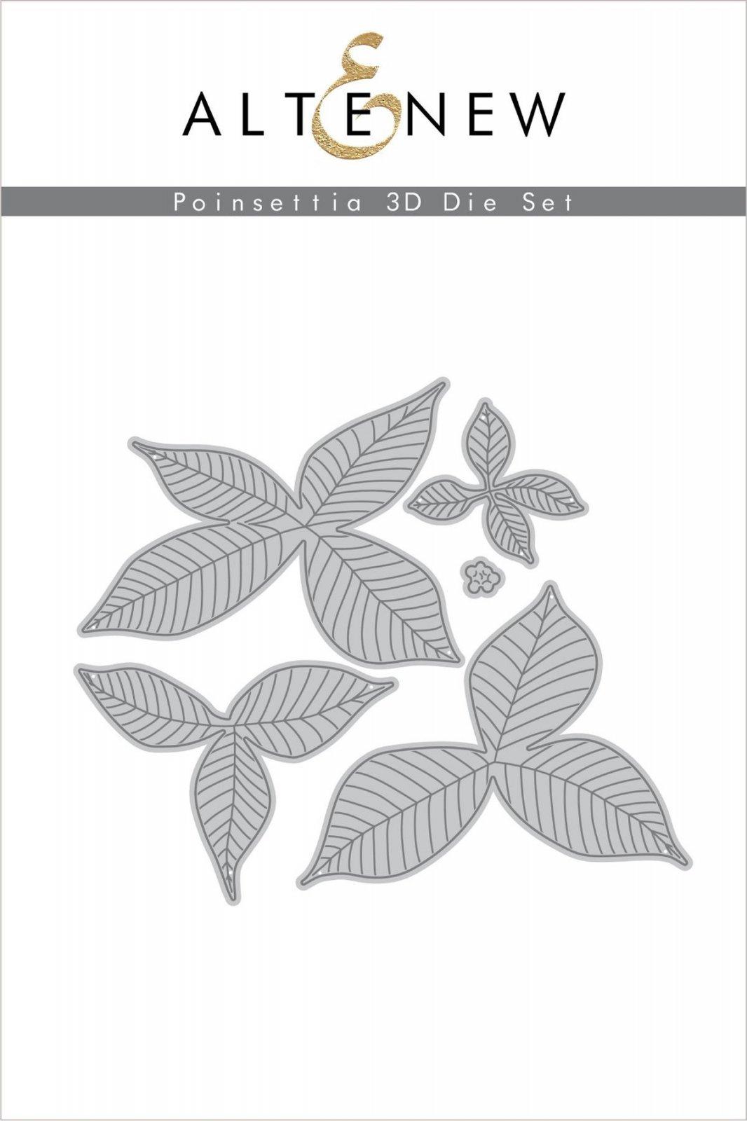 Altenew - Dies - Poinsettia 3D Die Set