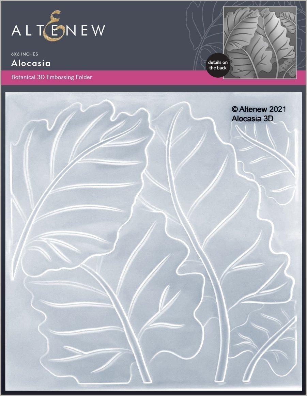 Altenew -  3D Embossing Folder - Alocasia