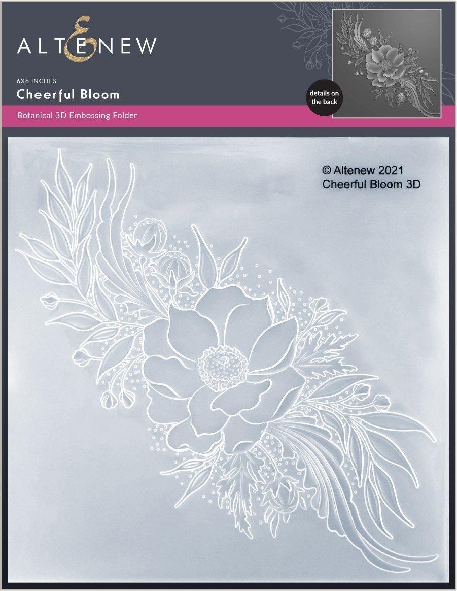 Altenew -  3D Embossing Folder - Cheerful Bloom
